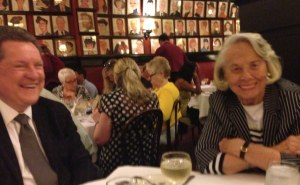 Liz Smith and I at Sardi_s tonight — Inbox